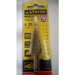 Сверло по металлу Stayer Master сталям и цветным металлам (29660-4-20-9)