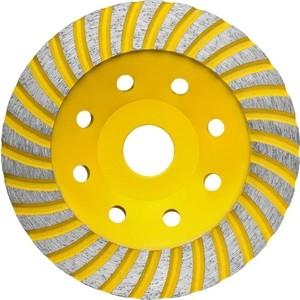 Чашка алмазная шлифовальная Stayer Professional сегментная, высота 22,2 мм 125 (33380-125)