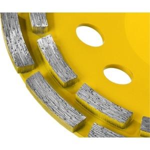 Чашка алмазная шлифовальная Stayer Professional двухрядная, высота 22,2 мм 180 (33381-180)