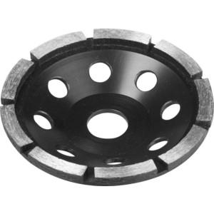Чашка алмазная шлифовальная Зубр сегментная однорядная, высота 22,2 мм 125 (33373-125)