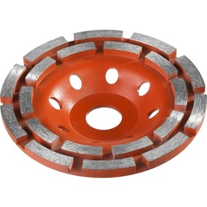 Чашка алмазная шлифовальная Зубр по бетону Мастер 180 мм (33376-180) бетоносмеситель зубр мастер бс 180 850