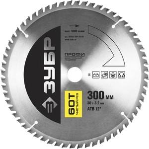 Диск пильный Зубр 300х30 мм 60Т Профессионал (36852-300-30-60)