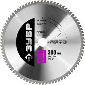 Диск пильный Зубр Точный-Мульти рез 300х30 мм 80Т Профессионал (36853-300-30-80)
