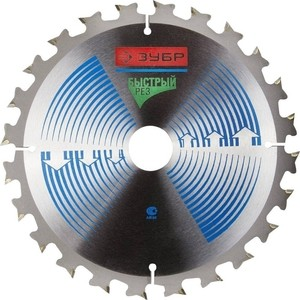 Диск пильный Зубр 210х30 мм 24Т (36901-210-30-24)
