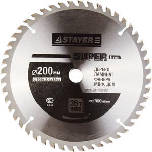 Диск пильный Stayer Opti-Line 200х32мм 36Т (3681-200-32-36)
