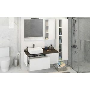 Мебель для ванной Comforty Милан 120 белый глянец