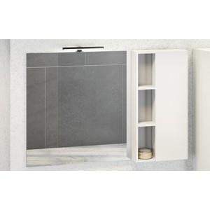 Зеркало-шкаф Comforty Милан 120 белый глянец (4136261)