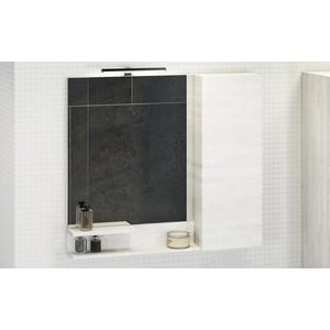 Зеркало-шкаф Comforty Верона 90 дуб белый (4136714)