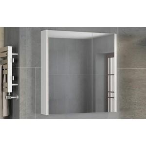 Зеркальный шкаф Comforty Женева 75 дуб белый (4137096)