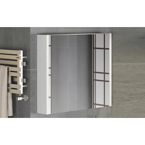 Зеркальный шкаф Comforty Женева 90 дуб белый (4137132) printio женева вечер