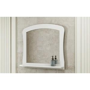 Зеркало Comforty Венеция 80 белый глянец (3130373) цена в Москве и Питере