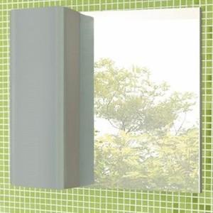 Зеркало-шкаф Comforty Рим 80 серый глянец универсальный (3132547)