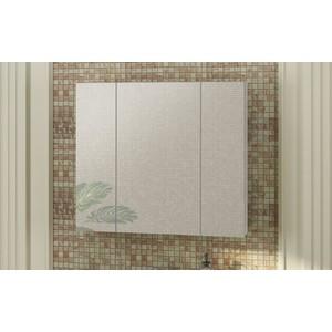 цены Зеркальный шкаф Comforty Римини 80 белый глянец (3130372)
