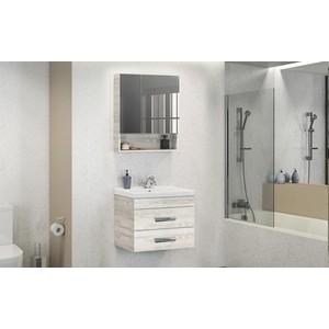 Мебель для ванной Comforty Никосия 60 дуб белый