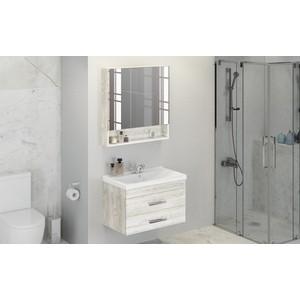Мебель для ванной Comforty Никосия 80 дуб белый
