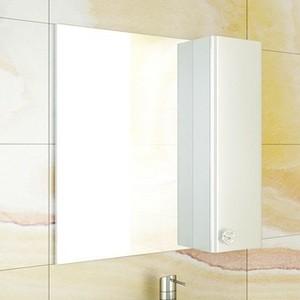 Зеркало-шкаф Comforty Флоренция 70 белый глянец универсальное (3130350)