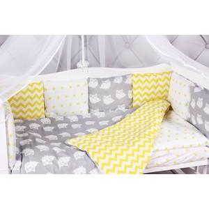 Борт в кроватку AmaroBaby 12 предметов (12 подушек-бортиков) СОВЯТА