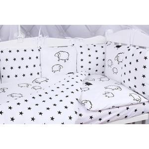 Комплект в кроватку AmaroBaby 15 предметов (3+12 подушек-бортиков) HOME ELITE (поплин/бязь)