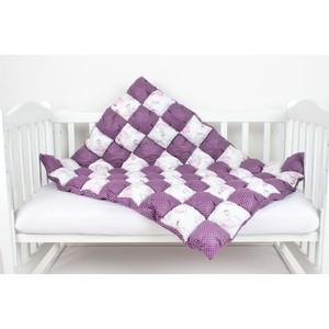 Одеяло AmaroBaby Бонбон Royal Care ВИШНЯ (100% хлопок, наполнитель файбер 100% пэ и синтепон пэ, размер 90-120)