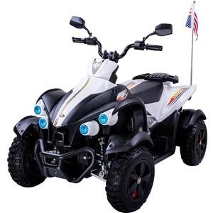 Детский спортивный электроквадроцикл Dongma ATV White 12V - DMD-268B-W