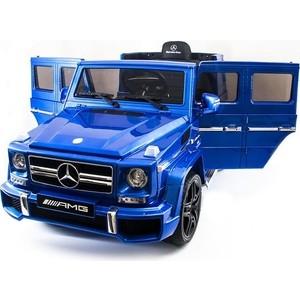 Детский электромобиль Harleybella Mercedes Benz G63 LUXURY 2.4G - Blue - HL168-LUX цена и фото