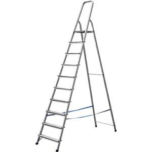 Стремянка Сибин 10 ступеней 208 см (38801-10)