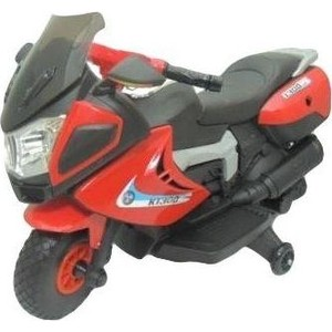 Детский электромотоцикл Jiajia красный - JH-9928-R