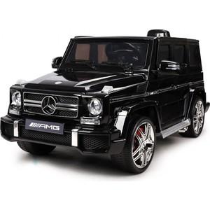 цена на Радиоуправляемый детский электромобиль TCV Mercedes Benz G63 AMG 12V черный - HL168-B