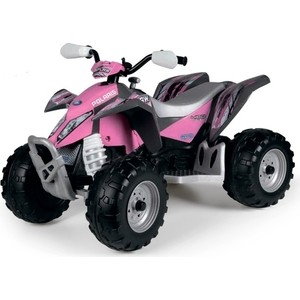 Детский электромобиль Peg-Perego Polaris Outlaw Pink Power outlaw country