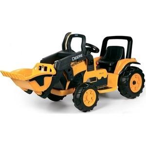 Детский электромобиль Peg-Perego ohn Deere Construction Loader siku трактор john deere с пресс подборщиком