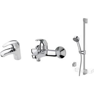 Комплект смесителей Oras Polara смеситель, для раковины, ванны, душевой гарнитур (1496)