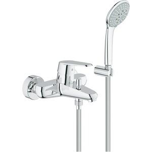 Смеситель для ванны Grohe Eurodisc cosmopolitan с душевым гарнитуром euphoria (33395002) фото
