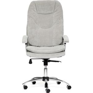 Кресло TetChair SOFTY lux ткань серый, мираж грей