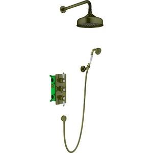 Душевая система Timo Nelson с термостатом, антик (SX-1391/02SM) цена