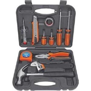 Фото - Набор инструментов Квалитет Сделай сам 11 предметов в кейсе (НДМ-11П) набор инструментов stinger 19 инструментов в кейсе