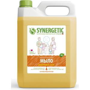 Жидкое мыло Synergetic Фруктовый микс, канистра, 5 л