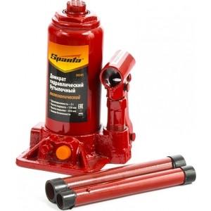 Домкрат гидравлический бутылочный телескопический SPARTA 2т (50341) домкрат гидравлический бутылочный sparta телескопический 3т 50342