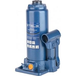 Домкрат гидравлический бутылочный Stels 6т (51103) домкрат гидравлический бутылочный телескопический matrix 6т 170 430мм 50747