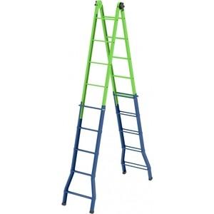 Лестница-трансформер СибрТех 148см-44см/220см-448см (97892) цена