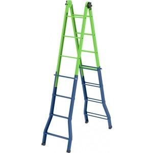 Лестница-трансформер СибрТех 121см-44см/194см-394см (97891) цена