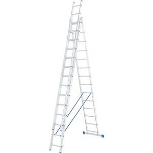 Лестница трехсекционная СибрТех 14 ступеней (97824)
