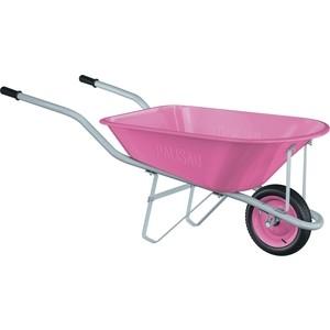 Тачка садовая PALISAD Pink Line 78л (68969) цена 2017