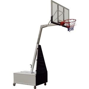 Баскетбольная мобильная стойка DFC STAND60SG 152x90CM поликарбонат