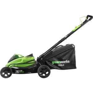 Газонокосилка аккумуляторная GreenWorks GD40LM45K3 (2500407UE) цены