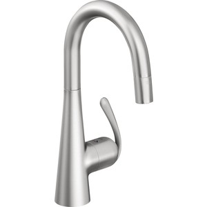 Смеситель для кухни Grohe Zedra с выдвижным изливом dual (32296SD0) grohe zedra 32296sd0 для кухонной мойки
