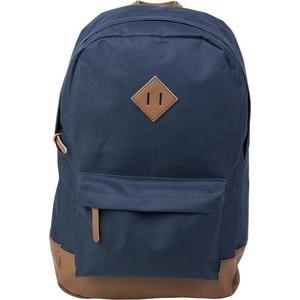 Рюкзак №1 School молодежный синий+ коричн.кож.зам 843415