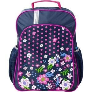Рюкзак №1 School школьный Цветочная фантазия 843413
