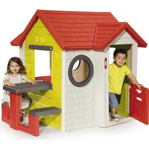 Домик Smoby Со столом, 154х135х120см (810401) smoby smoby детская палатка домик cotoons развивающая