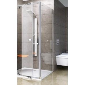 Душевая стенка Ravak Pivot PPS 100x190 см, стекло прозрачное, профиль хром (90GA0C00Z1)