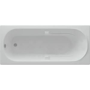 Акриловая ванна Акватек Лея 170х75 см фронтальная панель, каркас, слив-перелив (LEY170-0000021)